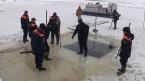 Крещенские иордани проверили водолазы и моржи