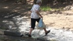 В Саратове на 50 лет Октября очередная коммунальная авария