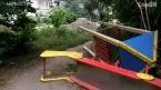 Погром на детской площадке