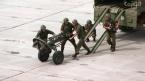 Репетиция начала военных игр. Видео