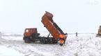 В Саратове бесплатно принимают снег