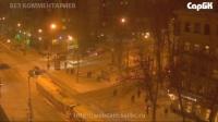 Столкновение двух автомобилей на трамвайных путях   ул. Рахова и Вавилова