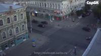Дтп на перекрестке ул. Московской и Радищева