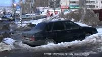 На Чехова застревают машины