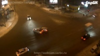 Авария на перекрестке ул. Чернышевского и 2-й Садовой