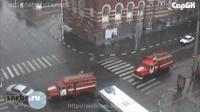 Авария на перекрестке ул. Горького и Московской