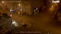 Столкновение двух автомобилей на перекрестке ул. Московской и Чапаева