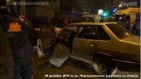 """На Чернышевского  ВАЗ 21099 """"протаранил"""" Тойоту"""